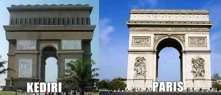 kediri vs paris